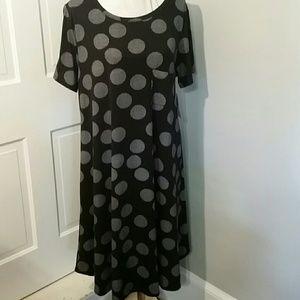 LuLaRoe Carly dress.   Sz 2XL